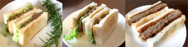 さっぽろ東急用神戸牛サンド