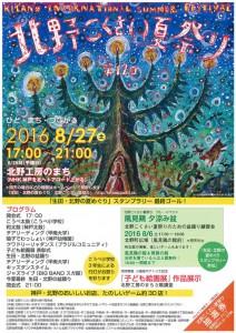 北野こくさい夏祭り